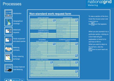 National Grid Metering Guide - Request form