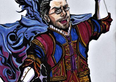 Dr. Cid Bunansa - Final Fantasy XII illustration